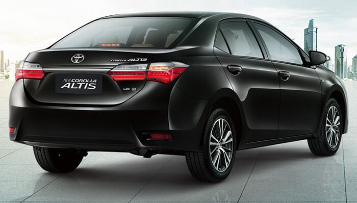 Spesifikasi Toyota Corolla Altis