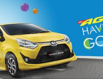 Harga Toyota Agya Samarinda