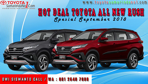 Hot Deal Toyota All New Rush Samarinda