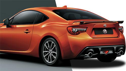 Desain Belakang Toyota 86