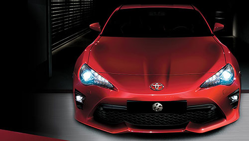 Desain Depan Toyota 86