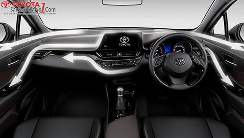 Dashboard Toyota CH-R
