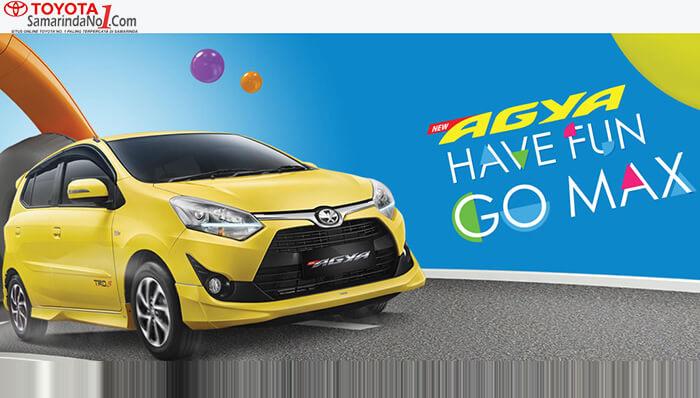Kredit Toyota Agya Samarinda