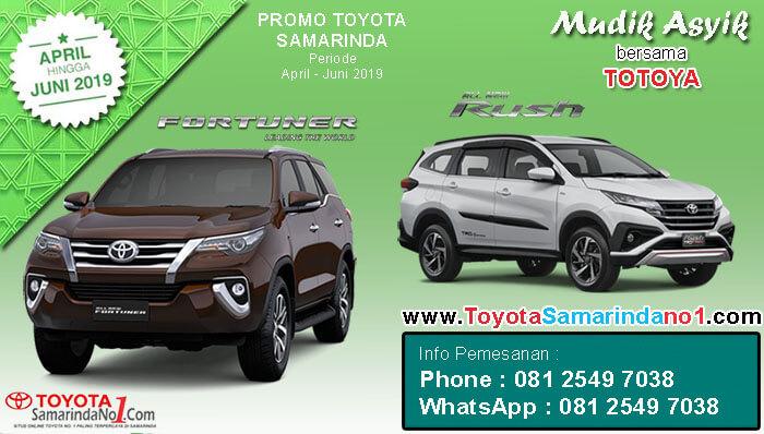 Promo Mudik Lebaran Toyota Samarinda