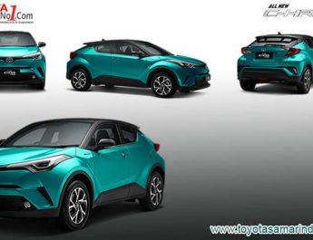 Eksterior Toyota CHR Hybrid