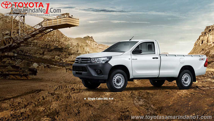 Eksterior All New Hilux