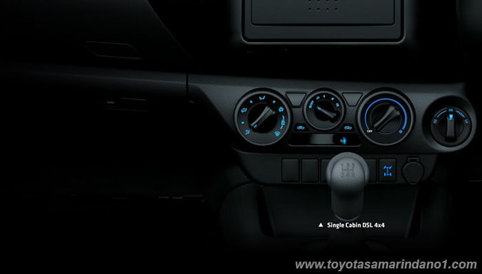 Interior All New Hilux
