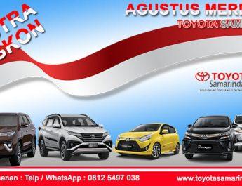 Promo Merdeka Toyota Samarinda 2019