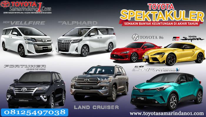 Promo Akhir Tahun Toyota Samarinda 2019