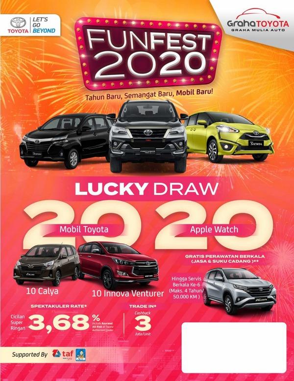 Promo Toyota Samarinda 2020